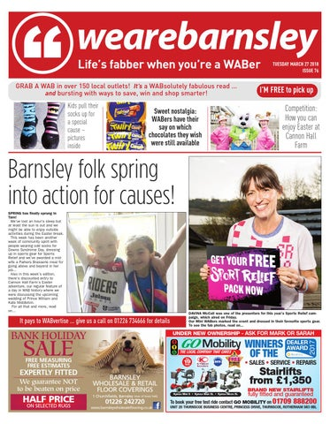 We are Barnsley 27 March 2018