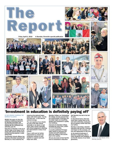 Front Cover Image for School Report April 2018