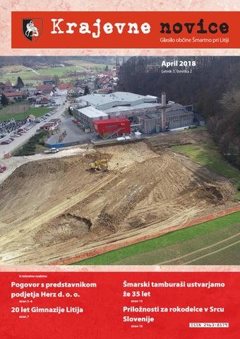Krajevne novice april 2018 (Letnik 3, št. 2)