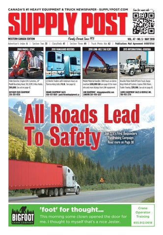 Supply Post Western Cover - May 2018