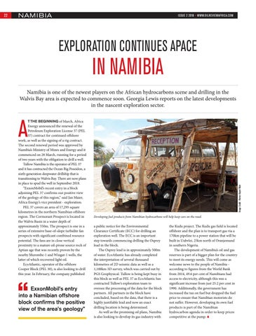 Exploration continues apace in Namibia