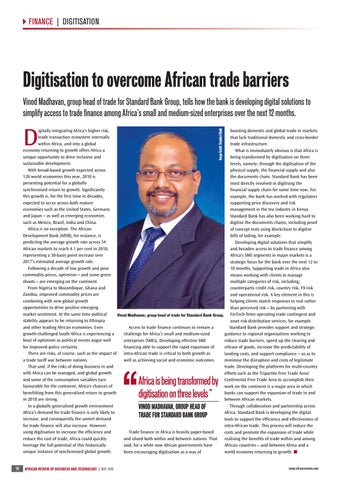 Digitisation to overcome African trade barriers
