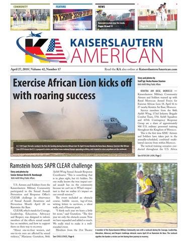 Kaiserslautern American, April 27, 2018