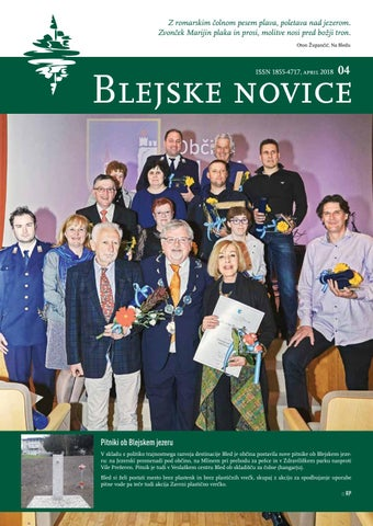 Blejske novice april 2018