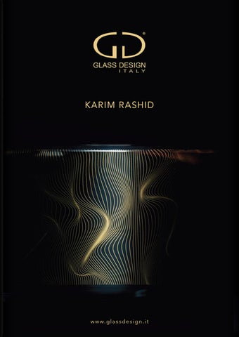 Glass Design - Karim Rashid Brochure 2017