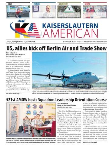 Kaiserslautern American, May 4, 2018