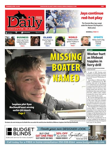 Vancouver Island Free Daily, April 19, 2018