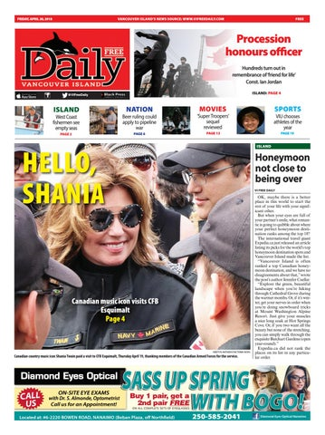 Vancouver Island Free Daily, April 20, 2018