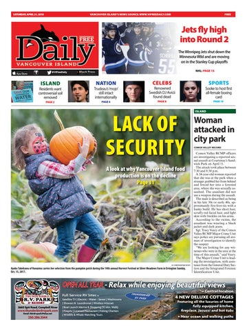 Vancouver Island Free Daily, April 21, 2018