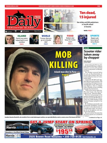 Vancouver Island Free Daily, April 24, 2018
