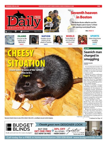 Vancouver Island Free Daily, April 26, 2018