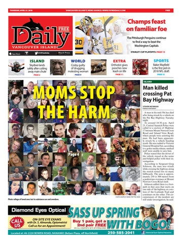 Vancouver Island Free Daily, April 27, 2018