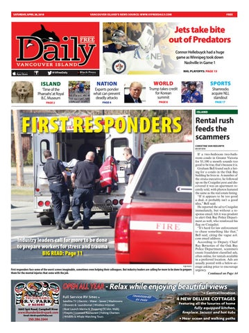 Vancouver Island Free Daily, April 28, 2018