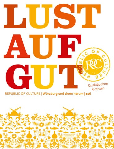 LUST AUF GUT Magazin | Würzburg Nr. 116