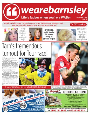 We are Barnsley 8th May 2018