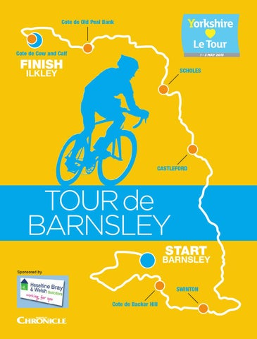 Front Cover Image for Tour de barnsley 27th April 2018