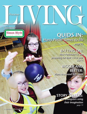 Front Cover Image for Penistone living 27th April 2018