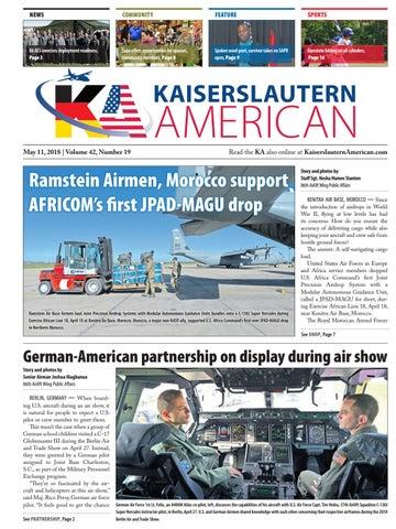 Kaiserslautern American, May 11, 2018
