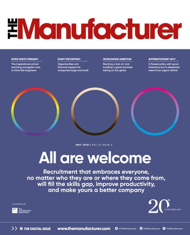 The Manufacturer May 2018