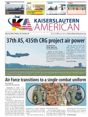 Kaiserslautern American, May 18, 2018