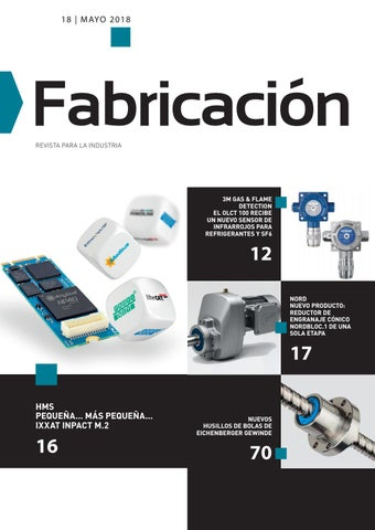 Revista Fabricación 18