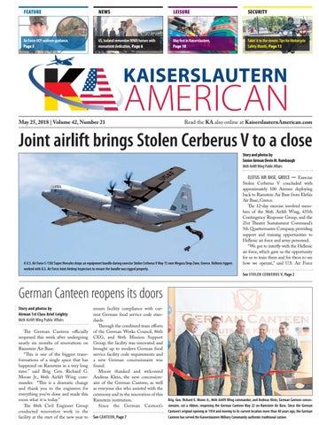 Kaiserslautern American, May 25, 2018