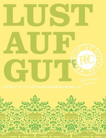LUST AUF GUT Magazin | Karlsruhe & Baden-Baden Nr. 122