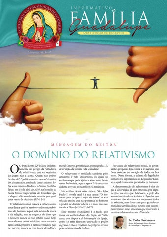 [Informativo Família Guadalupe – 29ª Edição]