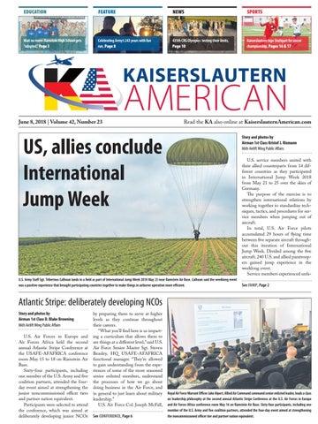 Kaiserslautern American, June 8, 2018