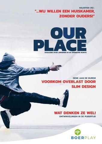 OUR PLACE - Jongeren in de openbare ruimte