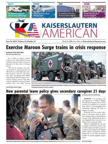 Kaiserslautern American, June 22, 2018