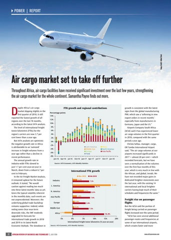 Air cargo market set to take off further