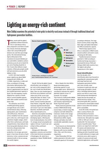 Lighting an energy-rich continent
