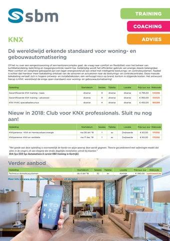 SBM KNX najaar 2018