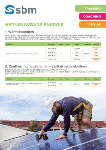 SBM Hernieuwbare energie najaar 2018