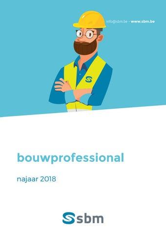 SBM Bouwprofessional najaar 2018