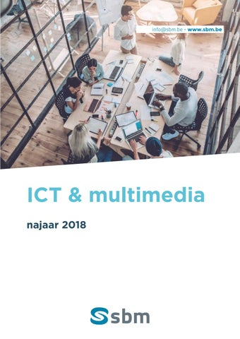 SBM IT media web print multimedia najaar 2018