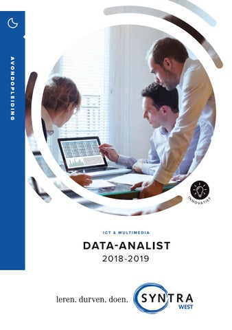 Syntra West data analist najaar 2018