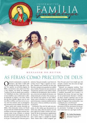 [Informativo Família Guadalupe – 30ª Edição]