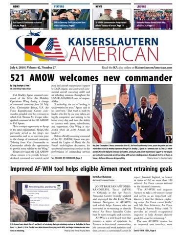 Kaiserslautern American, July 6, 2018