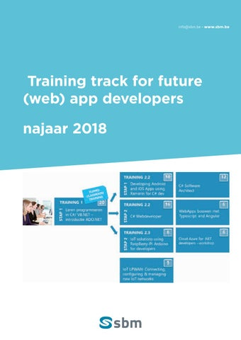 SBM Web app developers najaar 2018