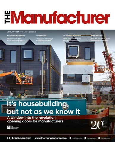 The Manufacturer July/August 2018