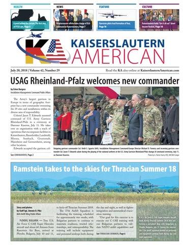 Kaiserslautern American, July 20, 2018