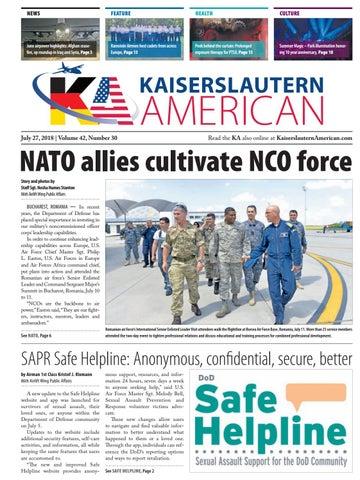 Kaiserslautern American, July 27, 2018