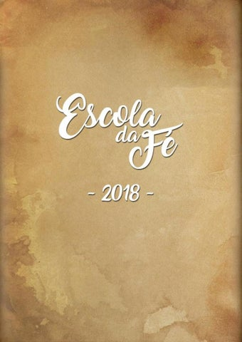 [Material para download da Escola da Fé 2018]