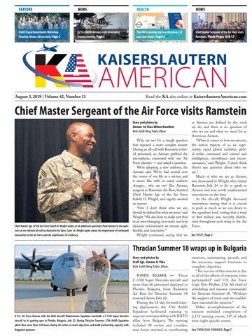 Kaiserslautern American, August 3, 2018