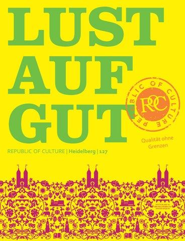 LUST AUF GUT Magazin | Heidelberg Nr. 127