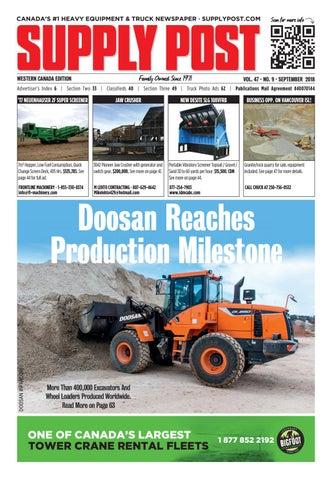 Supply Post Western Cover - September 2018