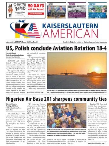 Kaiserslautern American, August 24, 2018