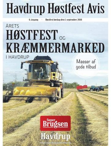 Havdrup Høstfest Avis 2018